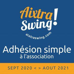 Adhésion simple 2020-2021